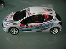 Decal 1 43 PEUGEOT 207 RC N°89 SIAS Rally WRC monte carlo 2011 montecarlo