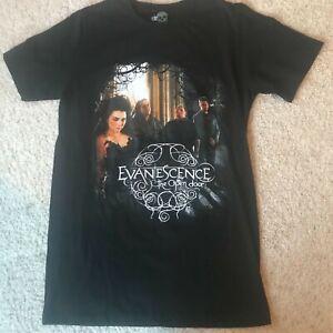 Evanescence, The Open Door Concert Tour Souvenir, Black T-Shirt Size S