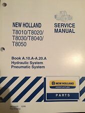 NEW HOLLAND T8010/T8020/T8030/T8040/T8050 SERVICE MANUAL HYDRAULIC SYSTEM