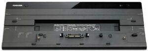 Toshiba Hi Speed Port Replicator III Docking Station Dock PA5116A-1PRP *NO PSU