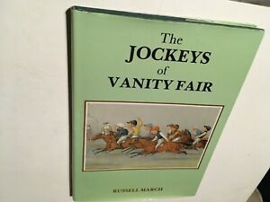 THE JOCKEYS of VANITY FAIR Russell March *signed*w/30 SPY horse racing prints