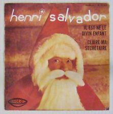 Henri Salvador 45 tours Il est né le Divin Enfant 1967