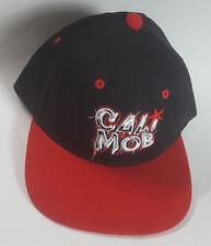 "CALI MOB Snapback Hat OG West Coast MOB ""Money Over Bitches"" Flat Bill"