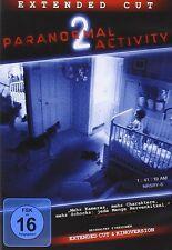 PARANORMAL ACTIVITY 2 (EXTENDED CUT)  DVD NEU   DAVID BIEREND/BRIAN BOLAND/+