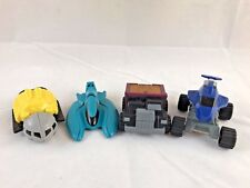 McDonald's Mattel Hot Wheels SHARK Attack Pack Vehicle Happy Meal Toy lot set 4