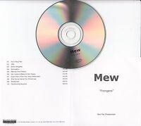 MEW Frengers 2003 UK 10-track promo test CD