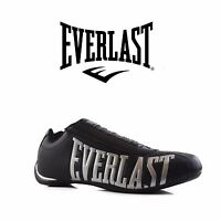MENS EVERLAST POWER ATHLETIC SNEAKERS RUNNERS SHOES Black Silver