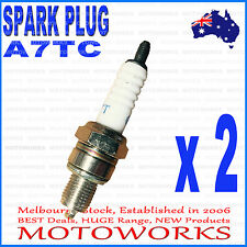 2 x A7TC Spark Plug 50cc 90cc 110cc 125cc PIT PRO Trail Quad Dirt Bike ATV Buggy