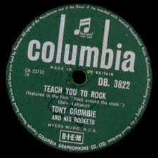 "TONY CROMBIE & HIS ROCKETS Teach you to rock  ""Jukebox-Hit"" Schellackplatte S203"