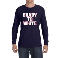 New England Patriots Tom Brady To James White Long sleeve shirt