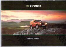 Land Rover Defender 1992-93 UK Market Sales Brochure 90 110 130