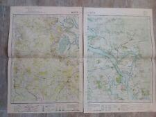 Ancienne carte COCHINCHINE 1926/Province de BIEN HOA/Indochine 2x 45x60