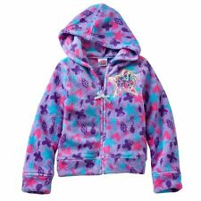 My Little Pony Girl Rainbow Dash Hooded Fleece Sweatshirt/Hoodie Jacket 2T 3T