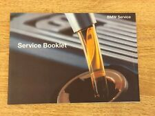 NEW BMW SERVICE  BOOK BRAND NEW & GENUINE NOT DUPLICATE 1 SERIES 2 SERIES