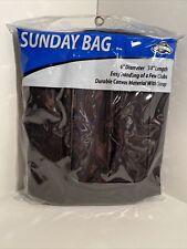 OnCourse Sunday Golf Bag Black New