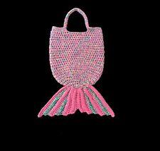 Mermaid Tote Bag Crochet Mermaid Bag