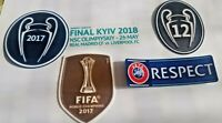 Real Madrid UCL FINAL KYIV 2018 Official Football Soccer Badge Patch SPORTING ID