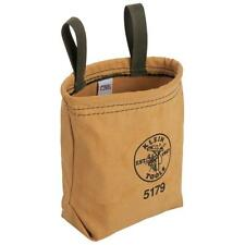 Klein Tools 5179S Water Repellant Tool Pouch with Snap