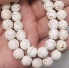 10mm Beige beads Natural Gemstones Round Loose Beads 15''AAA
