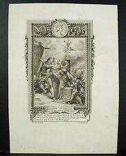 Trône de Philippe V dit le Long II de Navarre Roi de France Roubeau 1767 Cochin