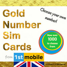 Or Nombre carte SIM - 0788 187 5500-New VIP Numéro, facile UK Network transfert