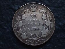 1907,   50 cents,   Canada,    Free shipping  in Canada