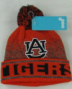 Auburn Tigers NCAA Gen 2 Youth Orange Pom Pom Beanie