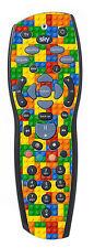 Lego Brick Sticker/Skin sky+ hd Remote controller/controll sticker r1