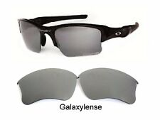 b34df56d42393 Galaxy Replacement Lens For-Oakley Flak Jacket XLJ Sunglasses Titanium  Polarized