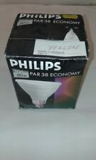 1 x Philips PAR 38 Economy 80W YELLOW 240V E27 ES Disco DJ Flood Light Bulb Lamp