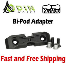 Odin Works K-Pod Low-Profile Harris BiPod Adapter Mount for KeyMod System