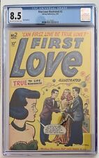 (1949) FIRST LOVE ILLUSTRATED #2 CGC 8.5 LT/OWP! Early Harvey Romance!
