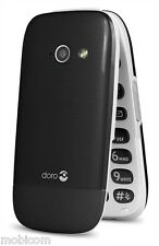 Doro Phone Easy 632 - Black (Unlocked) Big Button, FM,Camera  Phone with Cradle