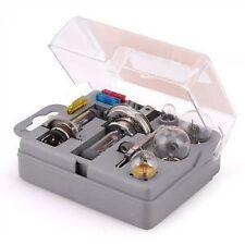 Universal 10 Piece Car Vehicle Emergency Bulb Fuse Spare H1 H4 H7 Auto Kit Set