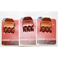 Goody Colour Collection Half Claw Clips, For Red Heads , 3 Pack