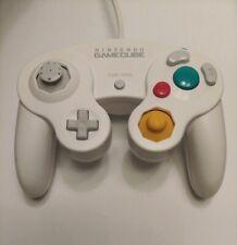 Official Nintendo GameCube White Controller GCN US Seller Free Shipping