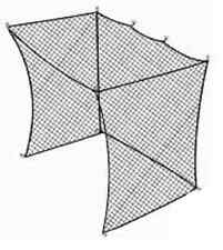 Golf Cage Net 10'x10'x10' Netting, Frame Not Included