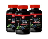 immune pills - WINE EXTRACT COMPLEX - resveratrol 1000mg 3B