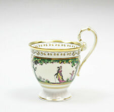 Raynaud & Co. Limoges Promenade au Palais Royal Kaffeetasse Emaille (16)