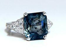 GIA Zertifiziert 13.33ct Natürlich keine Wärme Saphir Diamantring Nicht Erhitzt