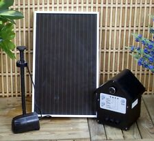 3 Watt Solar Powered Water Pump Kit with Battery & LED