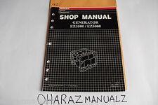 Honda EZ3500 EZ5000 Generator Shop Service Manual