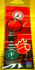 101th Grey Cup CFL Football Keychain Key Saskatchewan Roughriders Champions
