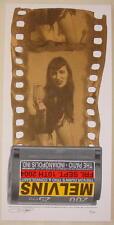 2004 Melvins - Indianapolis Silkscreen Concert Poster by Ron Donovan