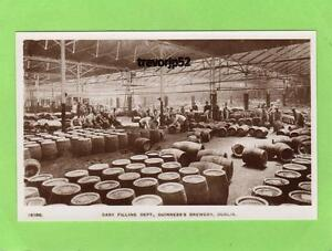 Guinness Brewery Cask Filling Department Dublin unused RP pc Hunts Ref A781
