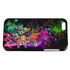 SPLATOON IPhone 4 4S 5 5S 5C 6 6S 6 7 Plus Black White Phone Hard Cover Case