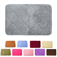 Absorbent Memory Foam Non-slip Bathroom Kitchen Floor Shower Mat Rug Plush SM