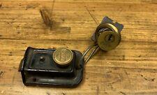 Antique Vintage YALE Deadbolt Door Lock Latch Bolt Set