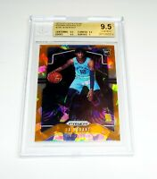 Ja Morant Orange Ice Prizm Rookie Card 2019-2020 Panini #249 BGS 9.5 Gem Mint RC