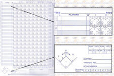 Champro Baseball Softball Official Scorebook, Score Keeping, Score Book